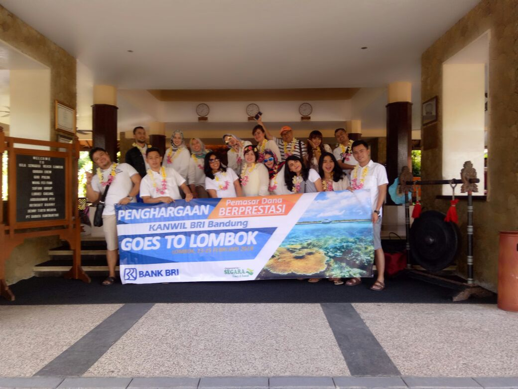BRI Kanwil Goes To Lombok